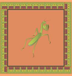 Mantis color vector