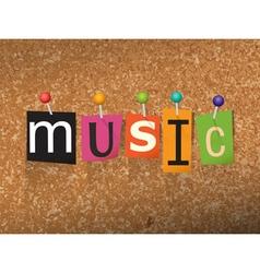 Music concept vector