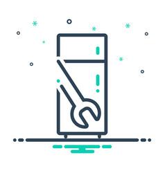 Refrigerator repair vector