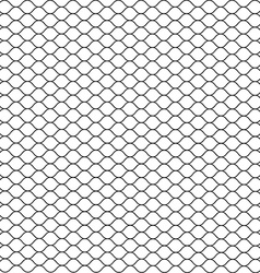 Cage Grill Mesh Octagon Background vector image