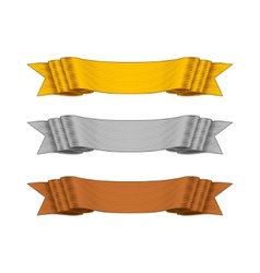 Shaded Ribbons for your Design Project vector image vector image