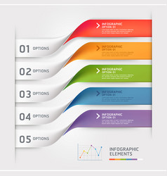 Business infographic elements template vector
