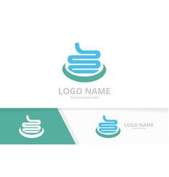 Business intestines logotype design template vector
