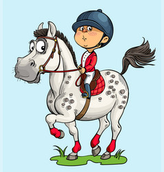 Horses dream vector