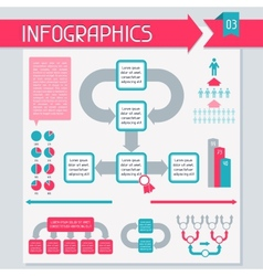 Infographics elements collection Set 3 vector image