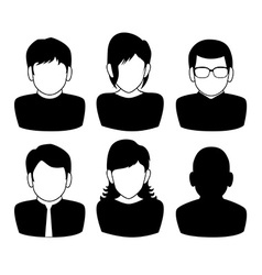 People digital design vector image