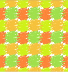 Seamless Pattern Grunge Colorful Stains vector image