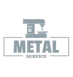 Technician service logo vintage style vector