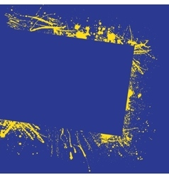 Splash frame background vector