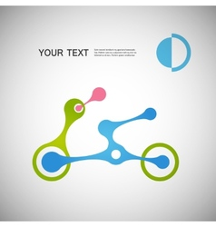 abstract moto transport eps vector image