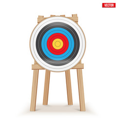 Archery target stand vector