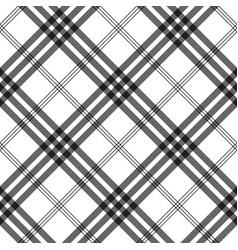 Black white check pixel square fabric texture vector