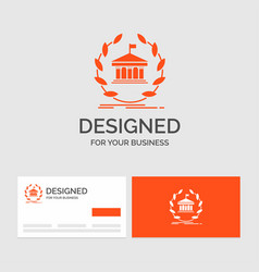 Business logo template for bank banking online vector