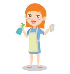 Character housewife design style collection vector