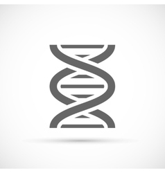DNA Helix Icon vector image