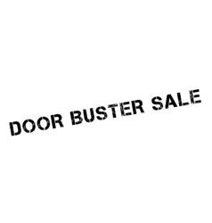 Door Buster Sale rubber stamp vector