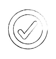Figure check good symbol icon design vector