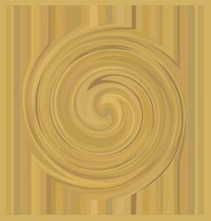 Gold whirlpool background golden swirl texture vector