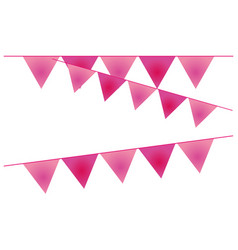 Isolated banner pennant design vector