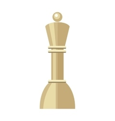 Pawn isolated on white business strategic vector