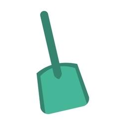 Shovel plastic tool icon vector