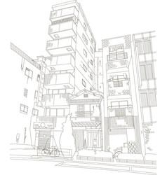 Tokio cityscape tokyo vector