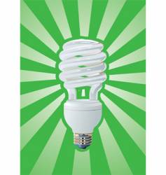 compact fluorescent vector image vector image