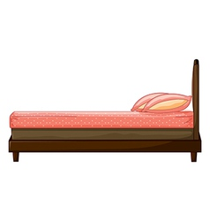 A bed vector image