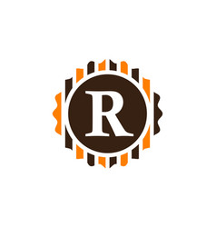 Best quality letter r vector