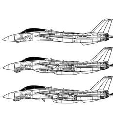 Grumman f-14 tomcat vector