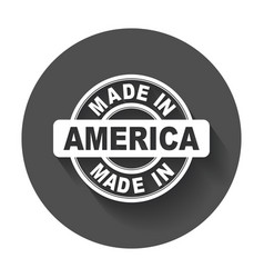 made in america vector image