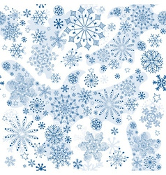 seamless white pattern vector image