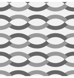 Wave geometric seamless pattern 3103 vector image