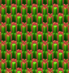 abstract christmas pattern vector image