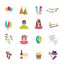 Carnival Icon Flat vector image