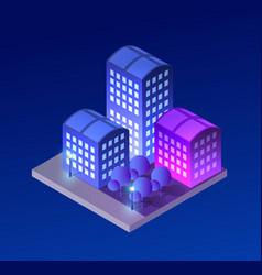concept city vector image