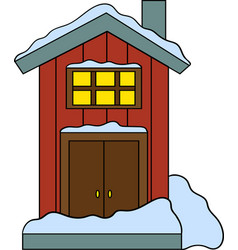 house in vector image