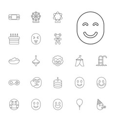 Joy icons vector