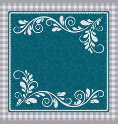 vintage background elegance antique floral vector image vector image