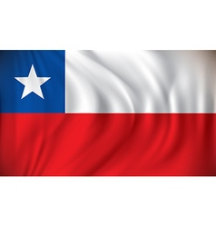 Flag of Chile vector image