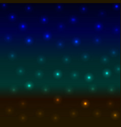 abstract background blurred night landscape sea vector image