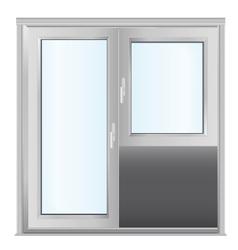 door - realistic vector image