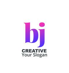 Initial letter lowercase design logo template vector