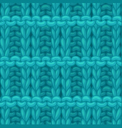 Pique rib stitch pattern vector