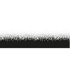 pixel grey gradient seamless pattern vector image