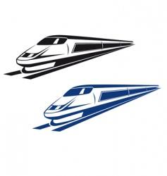 railroad and subway symbols vector image