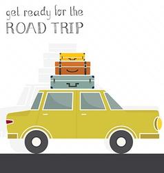 Road Trip Concept vector image