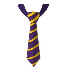 tie accessory fashion vector image