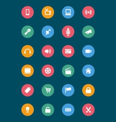 Web and mobile icons 1 vector