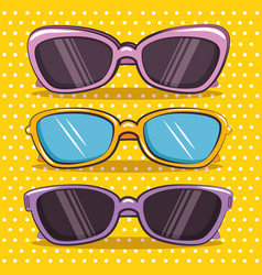 stylish woman fashion accesories vector image